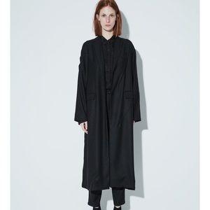 JNBY Minimalist Long Wool Coat